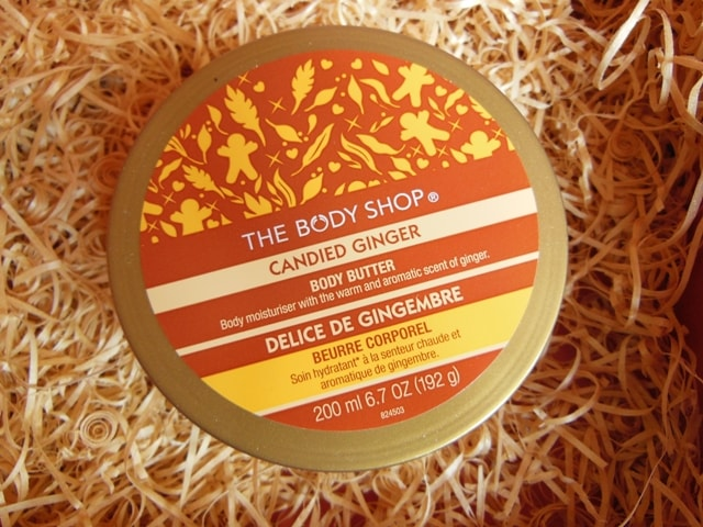 The Body Shop Candid Ginger Body Butter