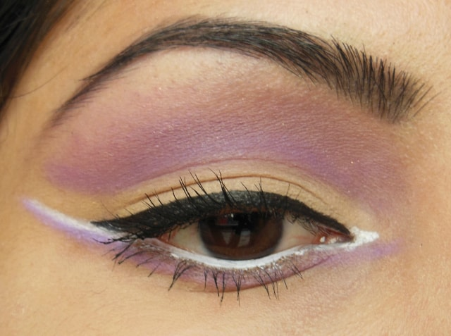 Eyes-O-Mania Series Part 8 - Purple and Beige Cut Crease Eyes