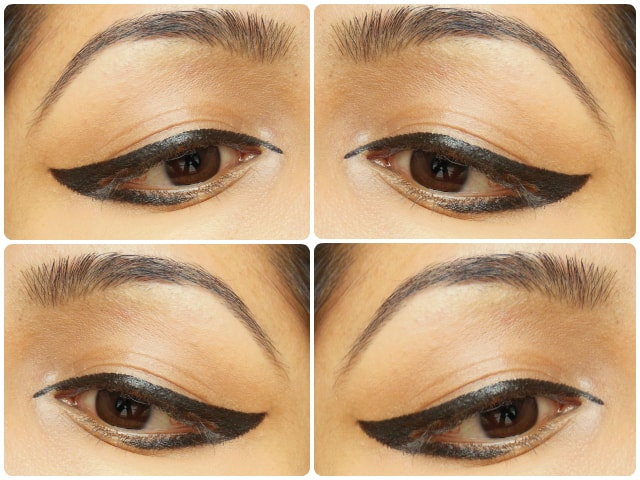 Graphic Eye Liner using L'Oreal Felt Tip Eye Liner Black