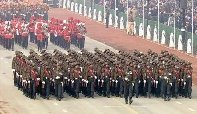 Indian Republic day Parade-2014
