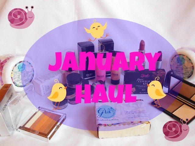 January Makeup Haul 2014