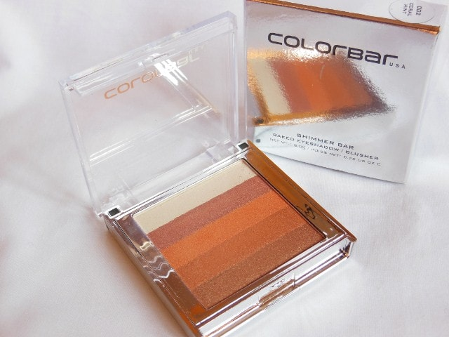 January Makeup Haul - Colorbar Shimmer Brick Coral
