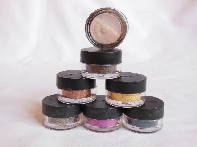January Makeup Haul - MAC Pigments