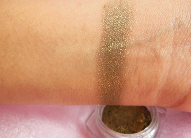 L'Oreal Infallible   Eye Shadow Cosmic Black Swatch