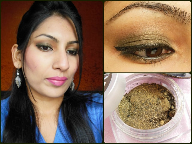 L'Oreal Paris Infallible Eye Shadow - Cosmic Black Review EOTD