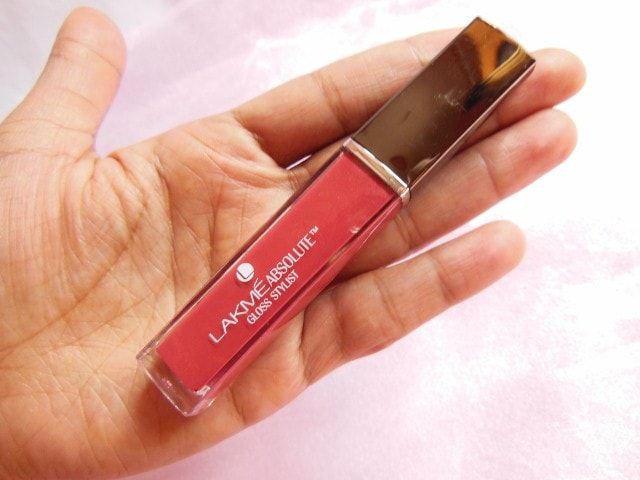 Lakme Absolute Gloss Stylist Lip Gloss Burgandy Burn Review