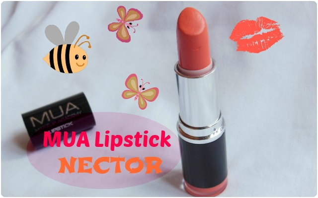 MUA Lipstick Nector Review