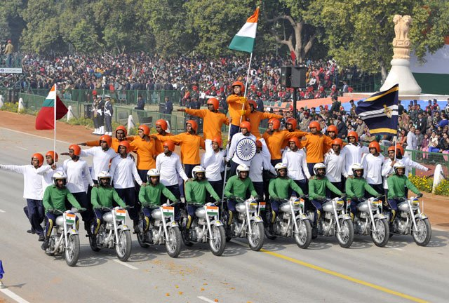 Republic day 2014 Parade
