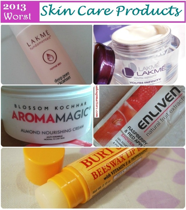 Worst of 2013 - Skin Care Products
