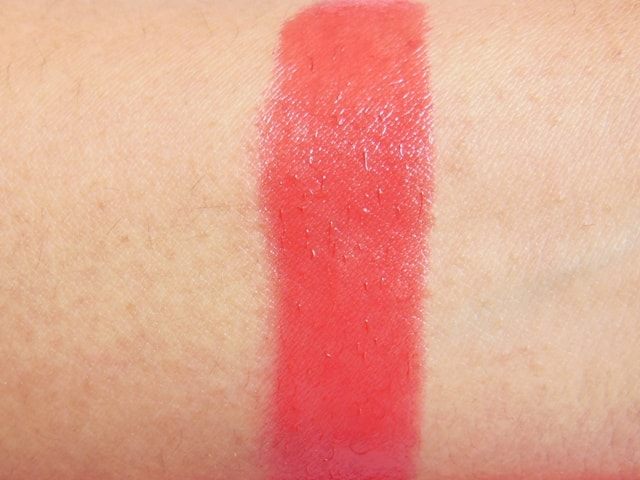 Bourjois Color Boost Lip Crayon Red Sunrise Swatch