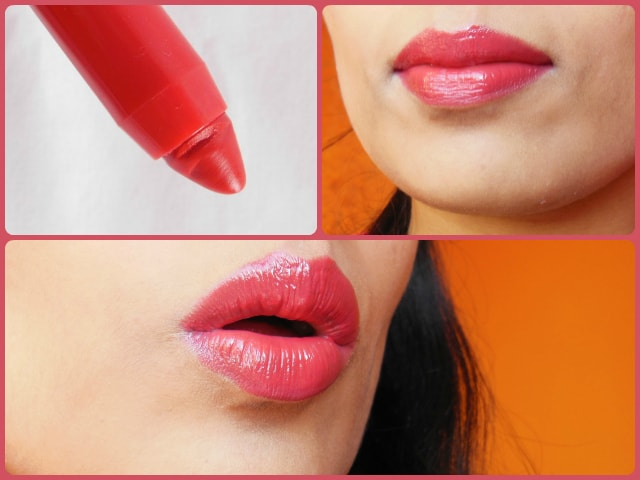 Bourjois Color Boost Lip Crayon in Red Sunrise LOTD
