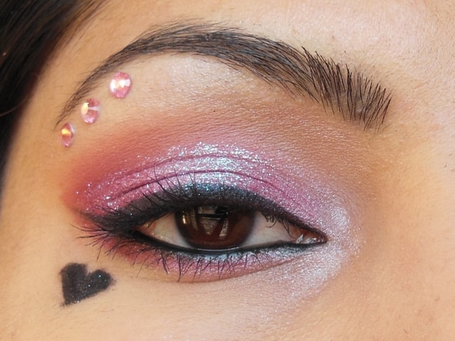 Eyes-O-Mania  Valentine Day Inspired Eye Makeup Look