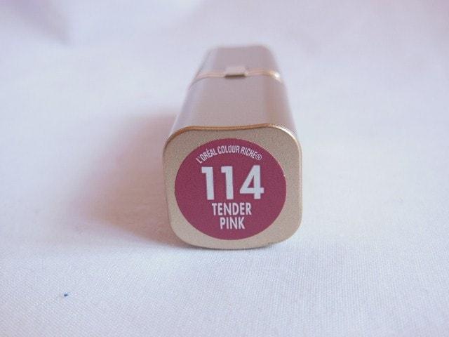 L'Oreal Paris Color Riche Lipstick Tender Pink 114