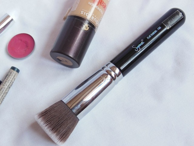 Monthly Makeup Favorites February 2014- SIGMA F80 Kabuki Brush