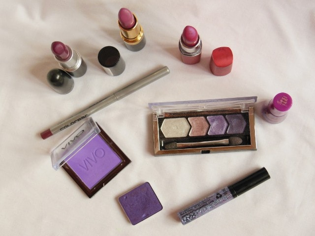 Orchid Color Makeup Products