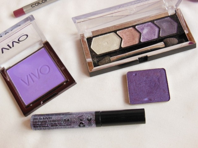 Pantone Color Of the Year 2014 - Orchid - Eye Shadow and Liners