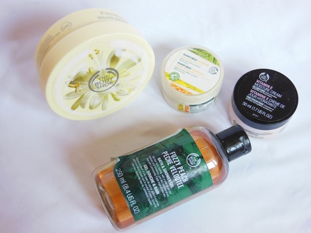 The Body Shop Favorite Products