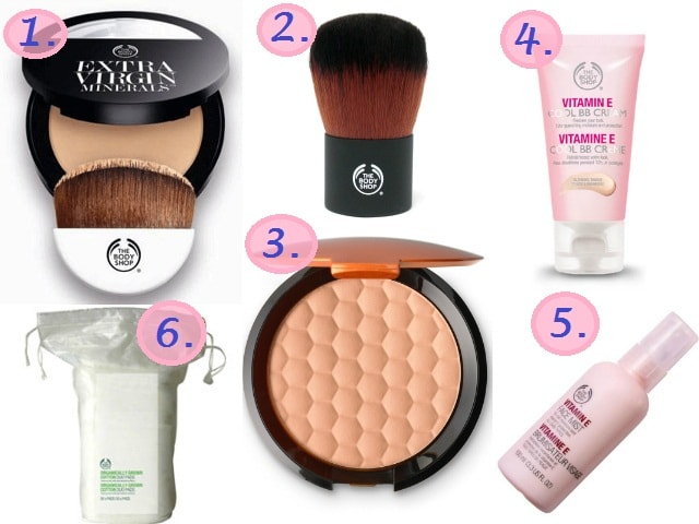 The Body Shop Must Have - Makeup Products