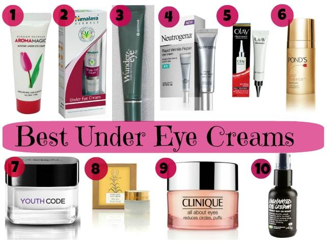 10 Best Under Eye creams In India - Beauty, Fashion