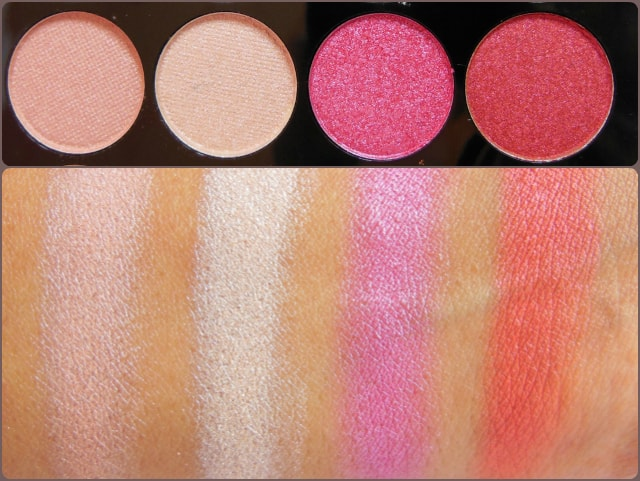 Accessorize Eye Shadow Palette You Are Everything Row 5 Swatch