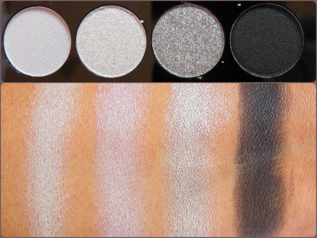 Accessorize Eye Shadow Palette You Are Everything Row 6 Swatch