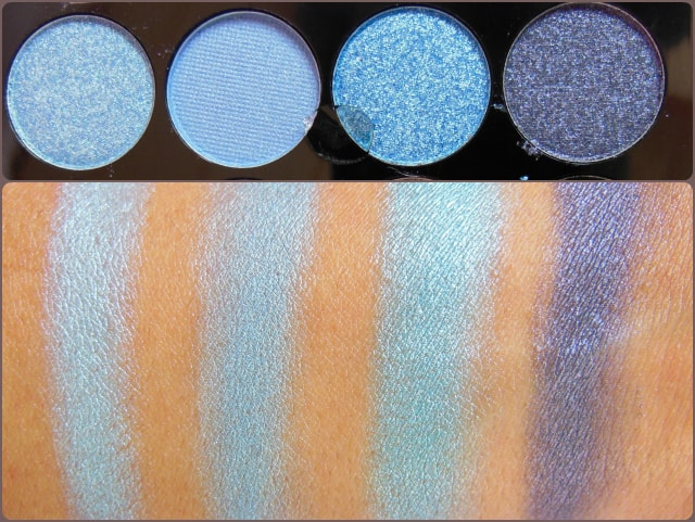 Accessorize Eye Shadow Palette You Are Everything Row 7 Swatch
