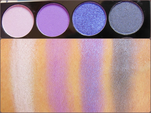 Accessorize Eye Shadow Palette You Are Everything Row 8 Swatch
