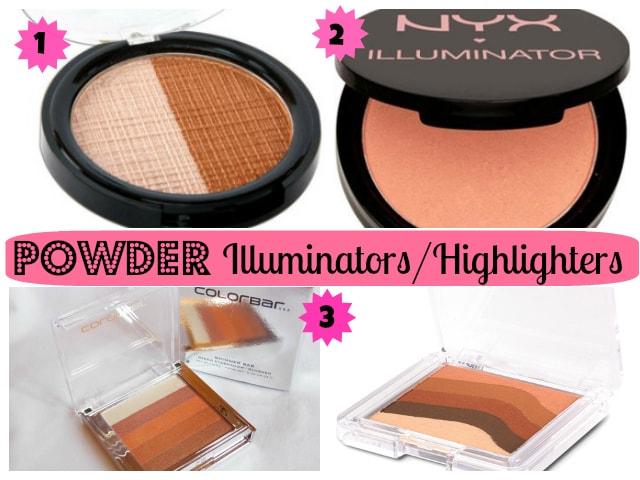 Best Powder Illuminators - Highlighters