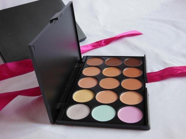 BornPrettyStore Concealer 15 Shades Palette