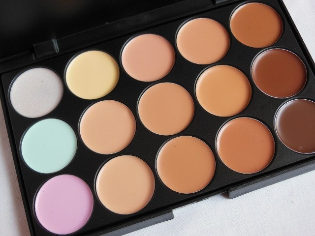 BornPrettyStore Concealer Palette  15 Shades Review