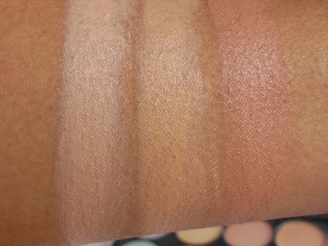 BornPrettyStore Concealer Palette Row4 Swatch 2