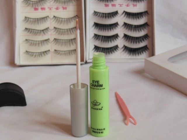 BornPrettyStore False Eye Lashes Eye Charm Review