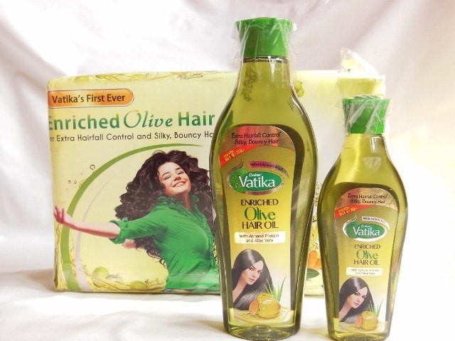 Dabur Vatika Enriched Olive Hair Oil Review