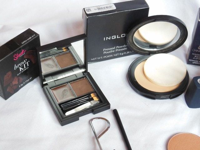 February Makeup Haul - Sleek Brow Kit, INGLOT Pressed Powder