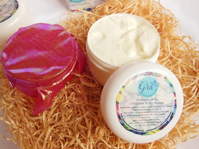 Gia Bath and Body Whipped Cream Body Butter