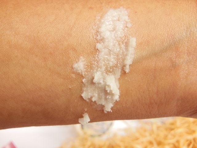 Gia Bath and Body Whipped Cream Butter Swatch