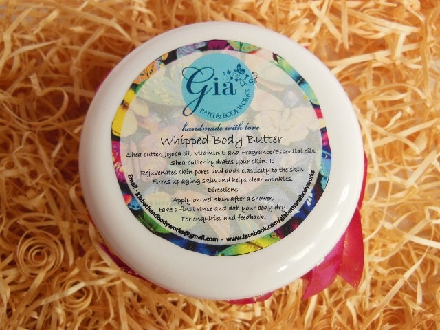 Gia Bath and Body Works Whipped Cream Butter