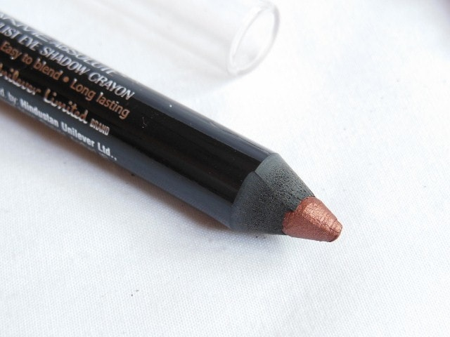 Lakme Absolute Drama Stylist Eye Shadow Crayon Bronze Review
