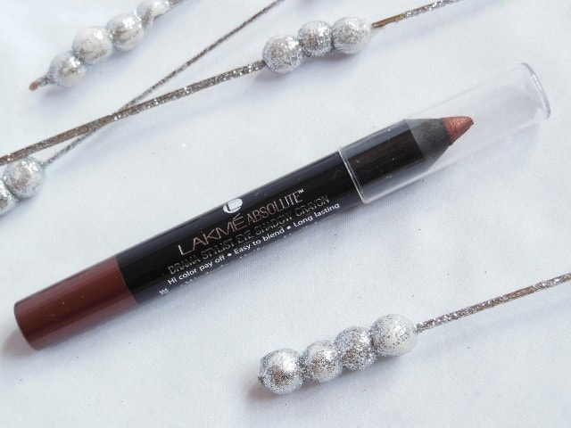 Lakme Drama Stylist Eye Shadow Crayon Bronze Review