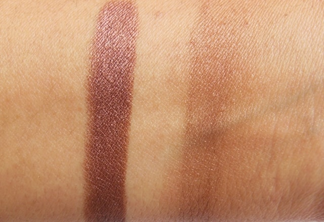 Lakme Drama Stylist Eye Shadow Crayon Bronze Swatch