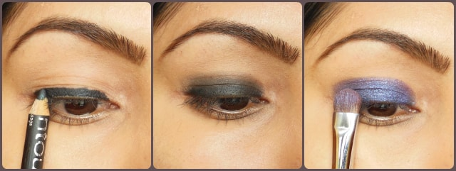 Lakme Illusion Range - Kareena Kapoor Inspired Eye Makeup Tutorial Steps 1
