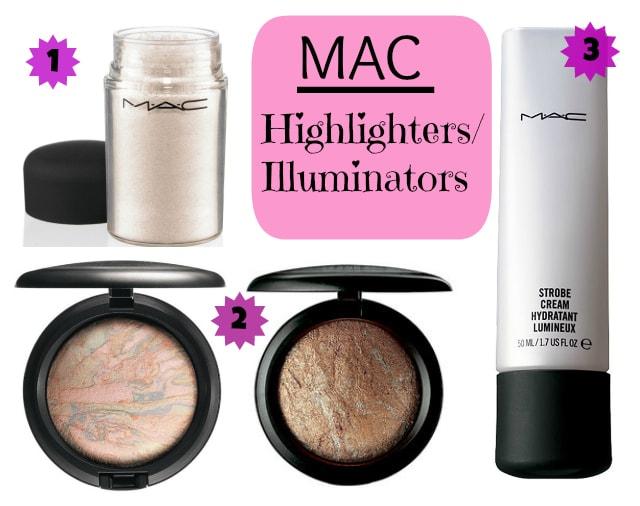 MAC Best Illuminators - Highlighters