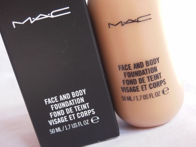 MAC Face and Body C4 Foundation
