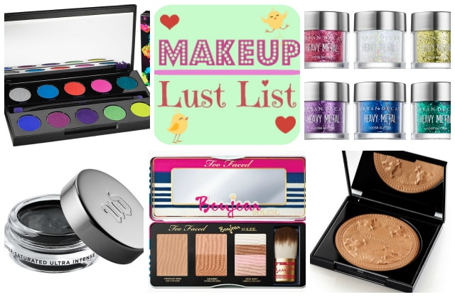 Makeup Lust List- March 2014