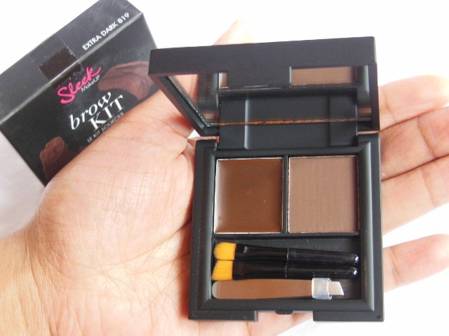 Sleek Eye Brow Kit - Extra Dark 819
