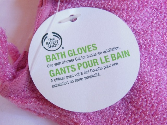 The Body Shop Bath Gloves