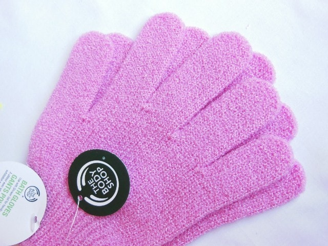 The Body Shop Bath Gloves Review