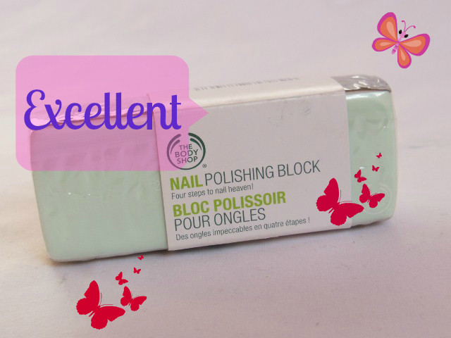 Makeup Marksheet - The Body Shop Nail Polish Block