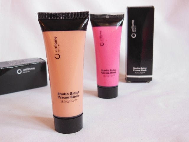 Oriflame Studio Artist Cream Blush - Soft Peach
