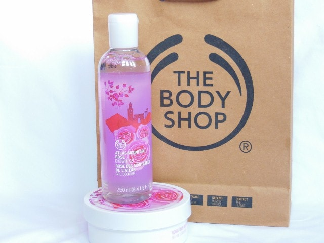 The Body Shop  Bathing Gel in Atlas Mountain Rose